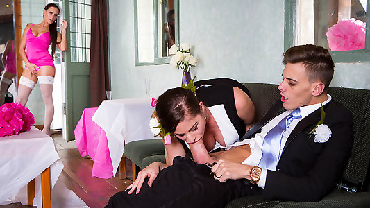 Tracy recommend Son cums in moms cunt